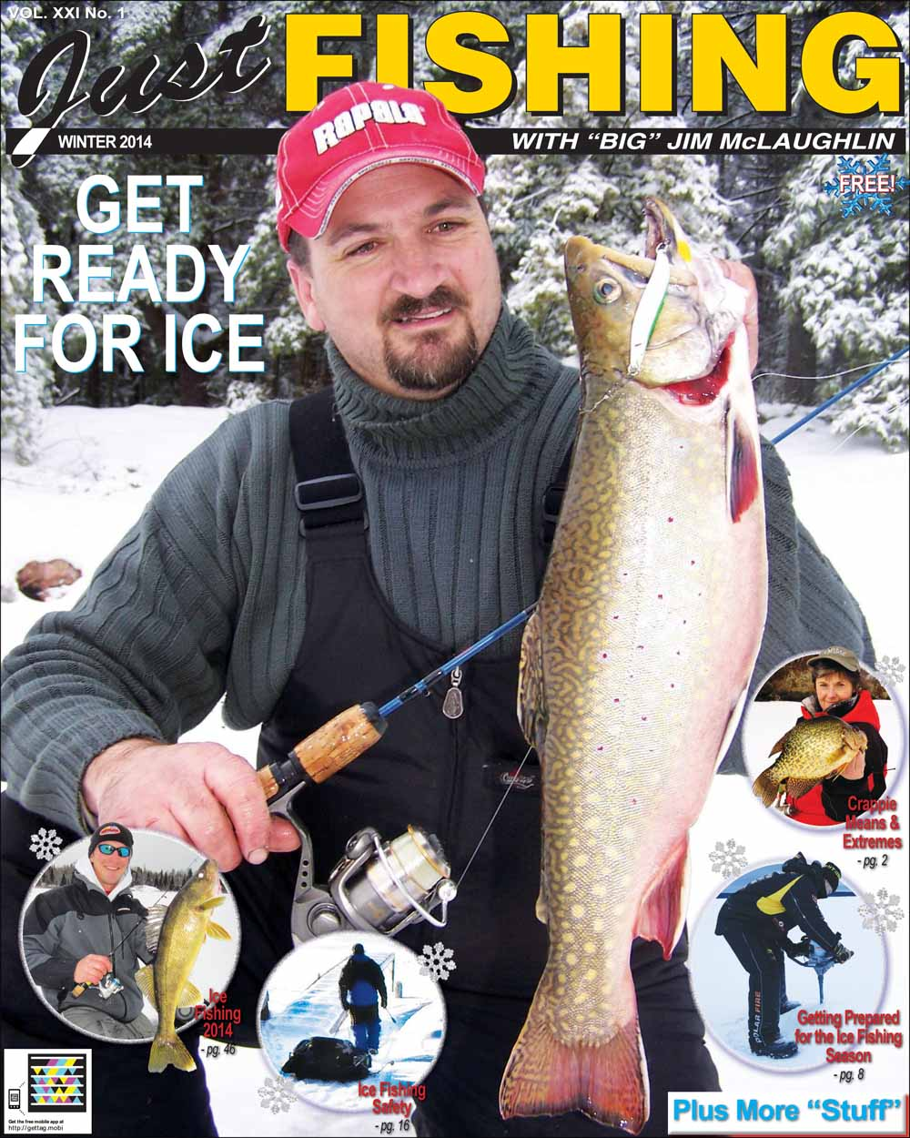 Just Fishing Winter 2014