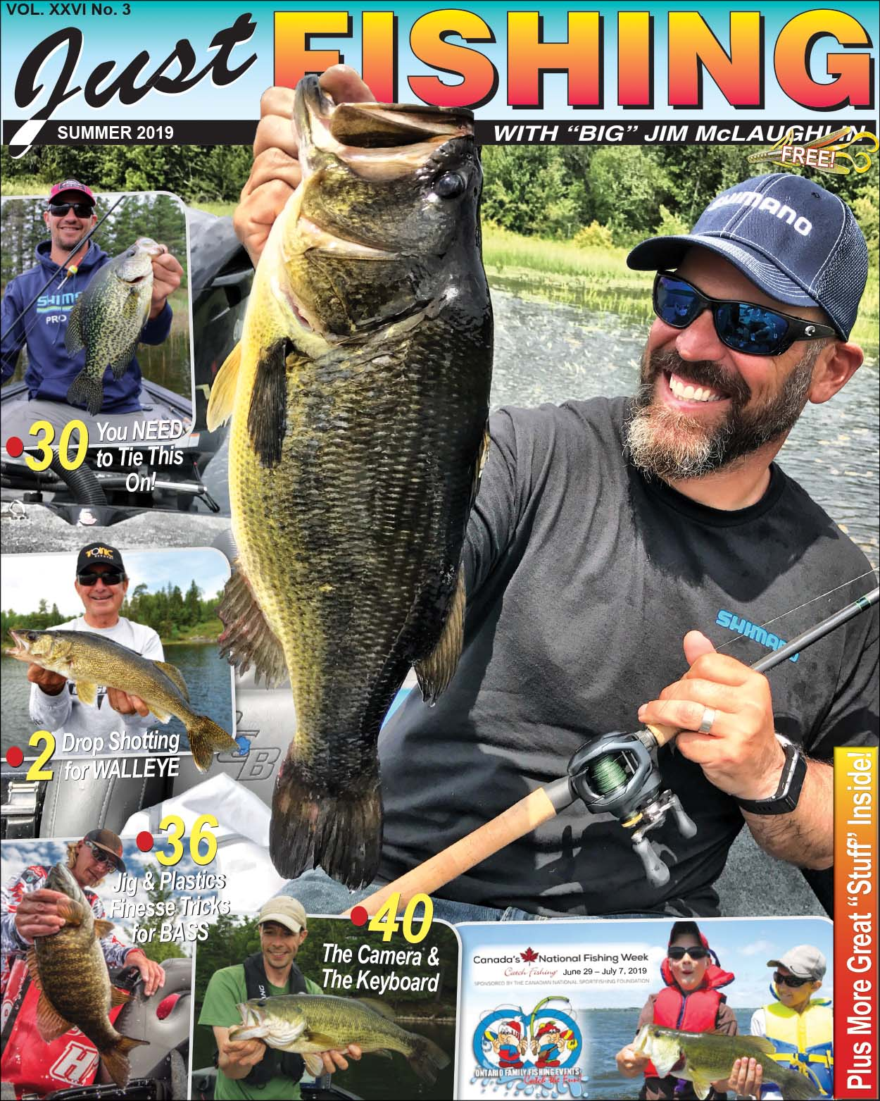 Just Fishing Summer 2019